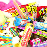 Retro Sweets Tub