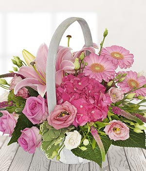 Hot Pink Basket