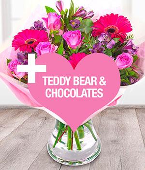 Pink Lady Bundle Romantic Flowers Online