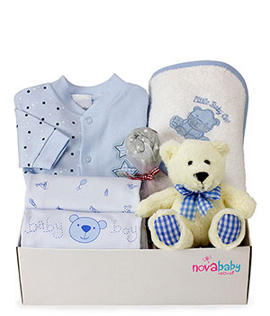 Baby Boy Large Gift Box