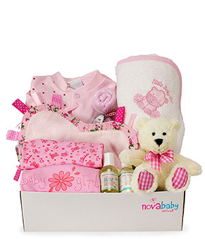 Baby Girl Delux Gift Box