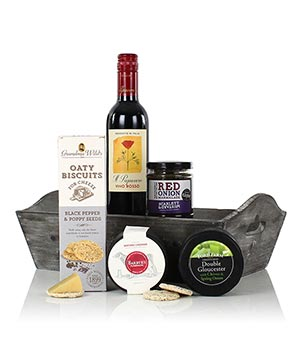 Cheese & Wine Tray