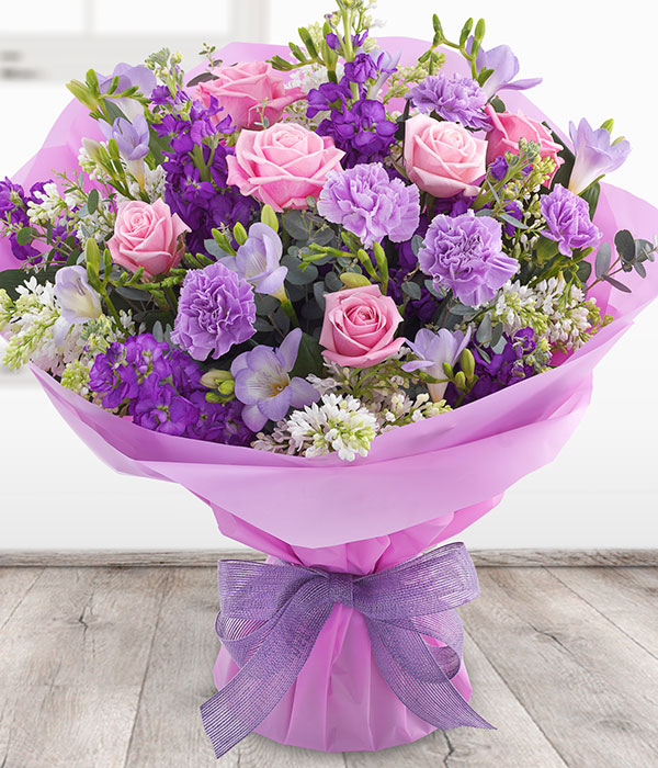 stunning aquapack flowers delivered pink roses pur