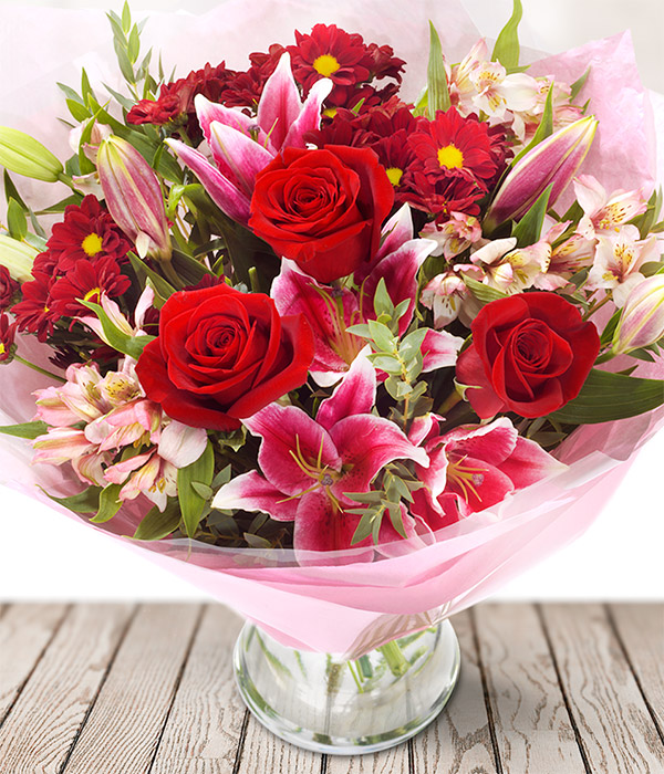 Message for Valentine\'s Day Flowers - Valentine\'s Flowers Message