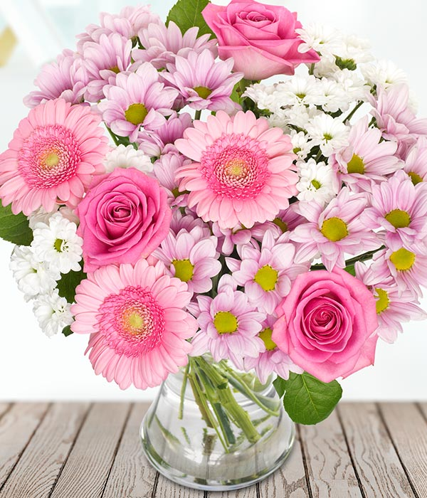 Mother\'s Day Flowers from £11.99 - Make Mum Smile