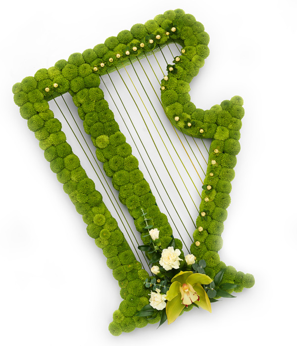 Irish Harp Tribute