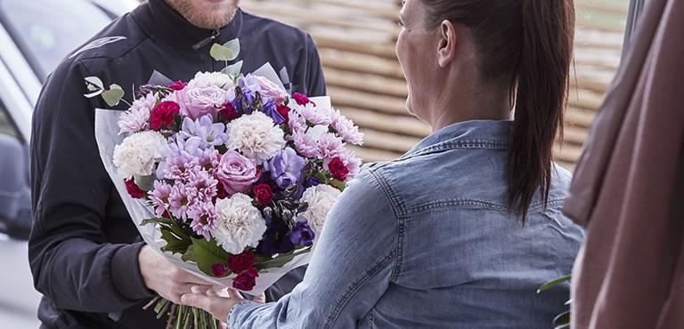 Hand Delivered Flowers